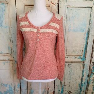 🧸5/$25 Weavers long sleeve tee shirt blouse